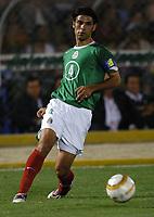 18/07/04 - PIURA - PERU - COPA AMERICA PERU 2004 - <br />Mexican Player N* 4 RAFAEL MARQUEZ.<br />© Gabriel Piko /Argenpress.com<br /><br />AMERICAN CUP  - Quarterfinals match of the Copa America 2004 - BRAZIL (4) VS. MEXICO (0) - BRASIL - <br />© Gabriel Piko /Argenpress.com