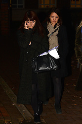 Pictured are Francesca (left) and Elisabetta (right) Gillo.<br /> Charles Saatchi leaves Isleworth Court during the fraud trial against Nigella Lawson's two former assistants, Elisabetta Grillo and Francesca Grillo.<br /> Thursday, 28th November 2013. Picture by Ben Stevens / i-Images<br /> File Photo  - Nigella Lawson and Charles Saatchi PAs cleared of fraud. The trial of Francesca Grillo, 35, and sister Elisabetta, 41, heard they spent £685,000 on credit cards owned by the TV cook and ex-husband Charles Saatchi.<br /> Photo filed Monday 23rd December 2013