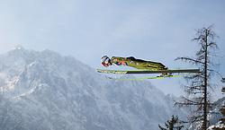 23.03.2013, Planica, Kranjska Gora, SLO, FIS Ski Sprung Weltcup, Skifliegen, Team, Probedurchgang, im Bild Jurij Tepes (SLO) // Jurij Tepes of Slovenia during his trial jump of the FIS Skijumping Worldcup Team Flying Hill, Planica, Kranjska Gora, Slovenia on 2013/03/23. EXPA Pictures © 2012, PhotoCredit: EXPA/ Juergen Feichter