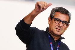 09-01-2016 TUR: European Olympic Qualification Tournament Rusland - Nederland, Ankara<br /> De Nederlandse volleybalsters hebben de finale van het olympisch kwalificatietoernooi tegen Rusland verloren. Oranje boog met 3-1 voor de Europees kampioen (25-21, 22-25, 25-19, 25-20) / Coach Jose Roberto Guimaraes BRA