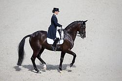 Judy Reynolds, (IRL), Vancouver K - Grand Prix Team Competition Dressage - Alltech FEI World Equestrian Games™ 2014 - Normandy, France.<br /> © Hippo Foto Team - Leanjo de Koster<br /> 25/06/14