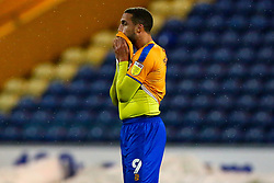 Jordan Bowery of Mansfield Town cuts a dejected look at full time - Mandatory by-line: Ryan Crockett/JMP - 17/02/2021 - FOOTBALL - One Call Stadium - Mansfield, England - Mansfield Town v Bolton Wanderers - Sky Bet League Two