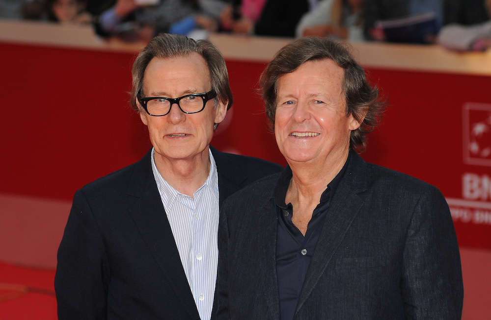 """Bill Nighy and David Hare attend the premiere of """"Page Eight"""" during the 6th International Rome Film Festival..November 1, 2011, Rome, Italy.Picture: Catchlight Media / Featureflash"""