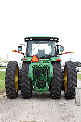 04 May 2013:   Arranged to coincide and be a part of the Red Corridor Route 66 festival, the village of Lexington hosts an antique tractor show.  Roger Whaley is the chairman of the organizing committee.  John Deere 8310R - 2013.