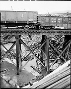 """""""Amercan Ship Dismantlers. Train off tracks. March 10, 1971"""" (Gundeson setion 3, Schnitzer)"""