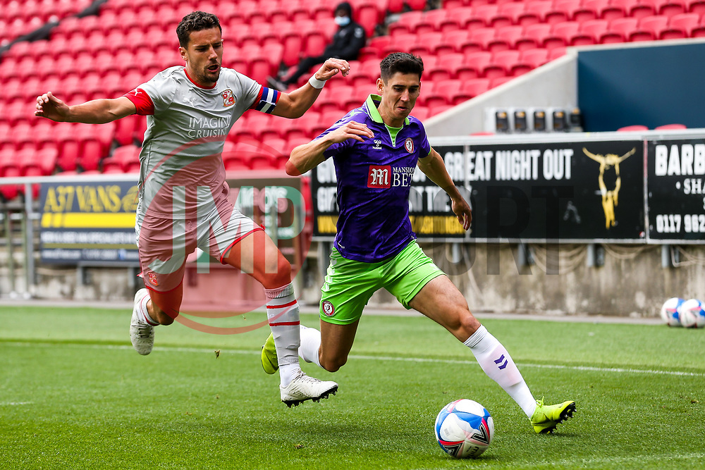 Callum O'Dowda of Bristol City - Rogan/JMP - 29/08/2020 - Ashton Gate Stadium - Bristol, England - Bristol City v Swindon Town - Pre Season Friendly.