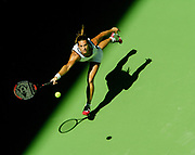 Amelie Mauresmo during her Match on Monday, January 19 - 2004 in Melbourne at the Australien Open.<br />Photo by Siggi Bucher