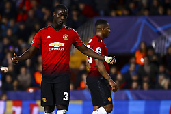 December 12, 2018 - Valencia, Spain - Eric Bailly of Manchester United   during UEFA Champions League Group H between Valencia CF and Manchester United at Mestalla stadium  on December 12, 2018. (Photo by Jose Miguel Fernandez/NurPhoto) (Credit Image: © Jose Miguel Fernandez/NurPhoto via ZUMA Press)