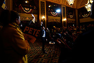 Pete Buttigieg, Democratic presidential candidate and former South Bend, Indiana mayor attends a campaign event in Sioux City, Iowa, U.S., January 31, 2020. REUTERS/Rick Wilking