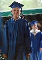 Gilford High School Graduation at Meadowbrook Pavilion Saturday, June 11, 2011.
