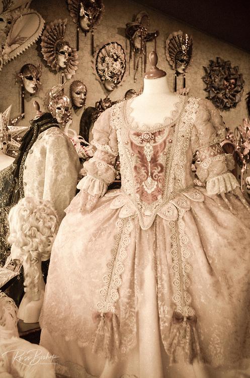 Carnival costumes and masks, Venice, Veneto, Italy