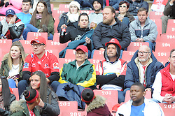 14-07-18 Johannesburg. Emirates Airlines Park. Emirates Lions vs Vodacom Blue Bulls.<br /> 1st half.  Rugby supporters watch the game. <br /> Picture: Karen Sandison/African News Agency (ANA)