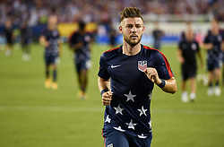 July 19, 2017 - Philadelphia, PA, USA - Philadelphia, PA - Wednesday July 19, 2017: Paul Arriola during a 2017 Gold Cup match between the men's national teams of the United States (USA) and El Salvador (SLV) at Lincoln Financial Field. (Credit Image: © Brad Smith/ISIPhotos via ZUMA Wire)