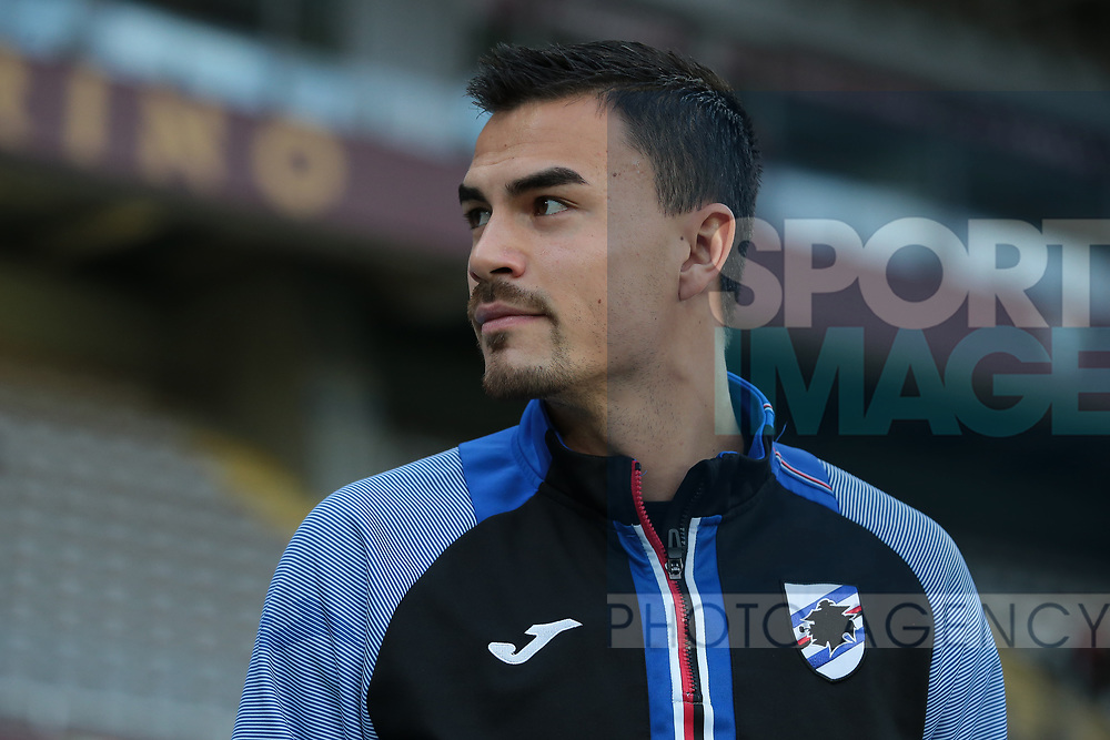 Emil Audero of Sampdoria during the Serie A match at Stadio Grande Torino, Turin. Picture date: 8th February 2020. Picture credit should read: Jonathan Moscrop/Sportimage