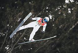 16.02.2020, Kulm, Bad Mitterndorf, AUT, FIS Ski Flug Weltcup, Kulm, Herren, im Bild Peter Prevc (SLO) // Peter Prevc of Slovenia during the men's FIS Ski Flying World Cup at the Kulm in Bad Mitterndorf, Austria on 2020/02/16. EXPA Pictures © 2020, PhotoCredit: EXPA/ JFK