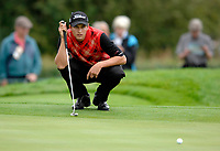 Photo: Richard Lane.<br />WGC American Express Championship, The Grove. 28/09/2006. <br />Dan Scott of England during the 1st round.