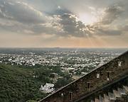 View from the Chittaurgarh Fort.