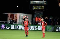 Fotball , 19 . november 2017 , Eliteserien<br /> Strømsgodset - Brann 2-1<br /> Bismar Acosta og Ruben Kristiansen , Brann depper etter 2-1 tap