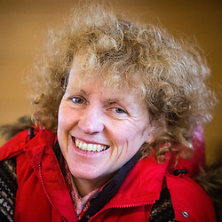 Horse trainer Lucinda Russell at Arlary Stables
