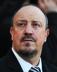 Newcastle United manager Rafa Benitez - Mandatory by-line: Matt McNulty/JMP - 11/02/2018 - FOOTBALL - St James Park - Newcastle upon Tyne, England - Newcastle United v Manchester United - Premier League