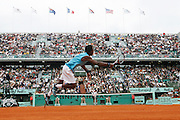 Roland Garros. Paris, France. June 1st 2007..3rd Round..Gael MONFILS against David NALBANDIAN.