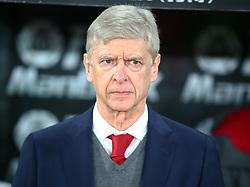 December 28, 2017 - London, England, United Kingdom - Arsenal manager Arsene Wenger ..during Premier League  match between Crystal Palace and Arsenal at Selhurst Park Stadium, London,  England 28 Dec 2017. (Credit Image: © Kieran Galvin/NurPhoto via ZUMA Press)