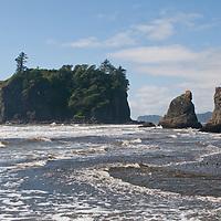 The Washington Coast, near Hole in Wall, Olympic Peninsula.