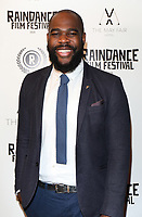 """Abraham Adeyemi at the UK Premiere of """"Stardust"""", the Opening Film of the Raindance Film Festival,The May Fair Hotel ,London photo by Roger Alarcon"""