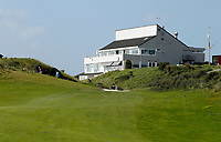 NOORDWIJK - Het in een andere kleur geschilderde clubhuis van de Noordwijkse Golfclub COPYRIGHT KOEN SUYK