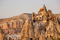 Cave Houses at Cappadocia, Turkey