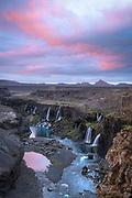 Sigoldugljufur is a canion near the Sigalda powerplant in the Icelandic highlands.