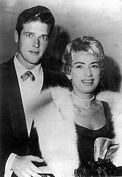 File photo dated circa 1953 of singer Dorothy Squires with actor Roger Moore soon after their marriage. Sir Roger has died in Switzerland after a short battle with cancer, his family has announced.