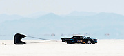 Best cars-people-atmosphere-photos of 2009 Bonneville Speed Week- Banks' Racing's 1956 Studebaker of Norco CA. pulls off the course after a run at the Bonneville Speed Way. August 9, 2009.  Photo by Colin E. Braley