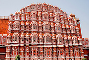 The Palace of the Winds, Hawa Mahal, Jaipur, Rajasthan, India