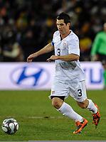 Fotball<br /> USA v Brasil<br /> Foto: DPPI/Digitalsport<br /> NORWAY ONLY<br /> <br /> FOOTBALL - CONFEDERATIONS NATIONS CUP 2009 - FINAL - USA v BRAZIL - 28/06/2009<br /> <br /> CARLOS BOCANEGRA (USA)