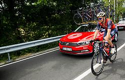 Borut Bozic (SLO) of Bahrain-Merida during Stage 1 of 24th Tour of Slovenia 2017 / Tour de Slovenie from Koper to Kocevje (159,4 km) cycling race on June 15, 2017 in Slovenia. Photo by Vid Ponikvar / Sportida