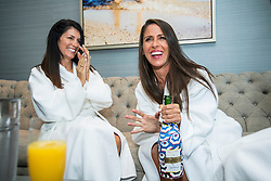 Soleil Moon Fryehas cause for double celebration after reaching her weight goal of dropping 42lbs — appropriately just in time for her 42nd birthday. The Punky Brewster star, who has four children with her television producer husbandJason Goldberg, showed off the results as she celebrated her birthday poolside with her best friends in Venice Beach, California. Soleil shed the pounds with the help of meal delivery and weight-loss plan Nutrisystem, for which she is an ambassador. The actress, who turned 42 on August 6, was pictured with her best friends taking a dip in the pool, and also enjoyed a spot of spa time, shopping and dining. Soleil joined the Nutrisystem plan in 2015, the year following the birth of her third child, son Lyric Sonny Roads, and turned to the program once again after the birth of her second son, Story, the next year. Along with eating healthily, Soleil — who also has two daughters, Poet Sienna Roseand Jagger Joseph Blue — works out with a trainer so she can focus on toning her body. She said: 'After Story was born, I knew I wanted to join Nutrisystem again to help me lose the baby weight since it worked so well the first time. This last year, I've been focused on keeping up with my health habits and wanted to get those last few pounds off. 'I'm excited to say that I am finally at my goal weight of 42 pounds lost! 'For me, it's about feeling like my best self and I feel better than now I did in my twenties.' Talking about juggling four kids with her weight loss goal, Soleil went on: 'I'm also a busy mom of four beautiful kids and I know I need to lead by example so I'm not going to starve myself in front of them. 'We love cooking as a family, and being able to teach my kids about food is a great way for me to stay on track, but also show them that mommy is healthy and happy.' Speaking about her birthday celebration in Los Angeles. Soleil said: 'Venice is one of my happy places and it was so nice to be a