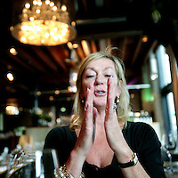 Nederland, Amsterdam,27 oktober 2008..Ellen Damsma Managing director van de Nationale Postcode Loterij. Ellen Damsma Managing director of the  National Zip code Lottery.