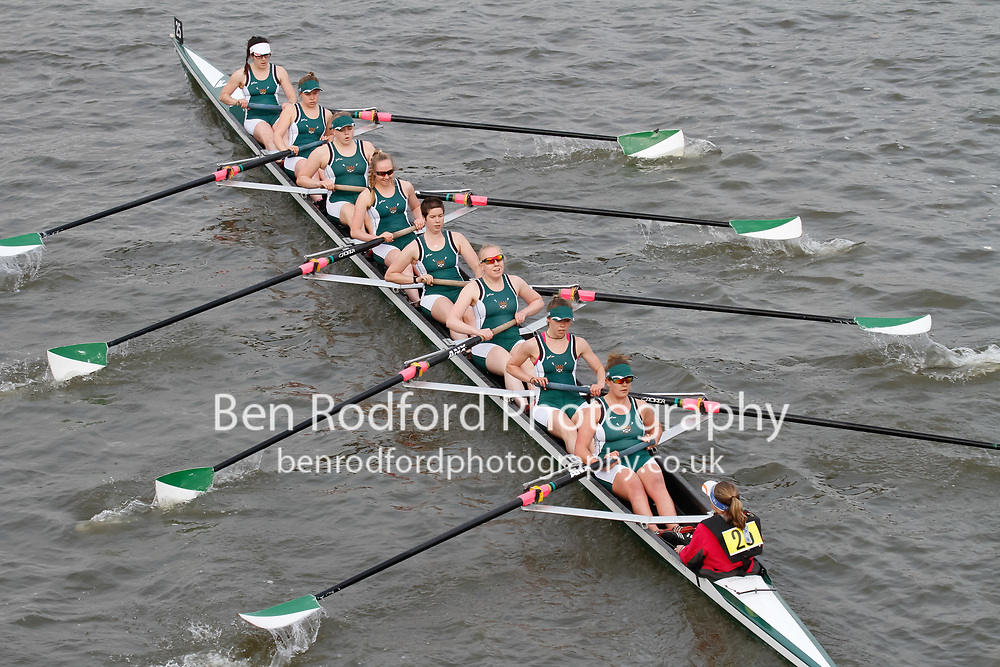 Crew: 25 Exeter University Boat Club B<br /> <br /> Women's Head of the River (WeHoRR) 2017<br /> <br /> To purchase this photo, or to see pricing information for Prints and Downloads, click the blue 'Add to Cart' button at the top-right of the page.