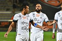 FOOTBALL : Lorient vs Montpellier - Ligue 1 - 29/10/2016<br /> HILTON Vitorino (Montpellier) / VANDEN BORRE Anthony (Montpellier)<br /> <br /> Norway only