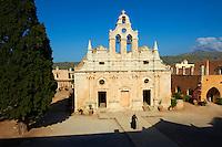 Grece, Crete, Province de Rethymnon, monastere de Arkadi (Arkadiou) // Greece, Crete island, Arkadi monastery (Arkadiou)