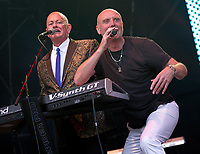 Heaven 17 at Rewind Festival North 2021 the 80s festival , Capesthorne Hall, Macclesfield, England photo by Michael Palmer