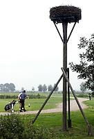Nieuwerkerk aan de IJssel - Openbare golfbaan Hitland. Ooievaarsnest. Foto KOEN SUYK