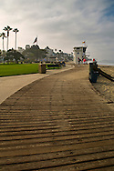 Boardwalk at Laguna Beach, Orange County, California