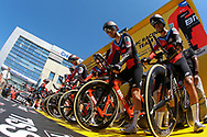 Start Team BMC during the Tour de France 2018, Stage 3, Team Time Trial, Cholet-Cholet (35 km) on July 9th, 2018 - Photo Ilario Biondi/ BettiniPhoto / ProSportsImages / DPPI