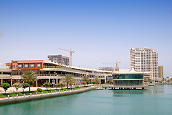 The Lagoon at new Amwaj Island residential property development in Kingdom of Bahrain