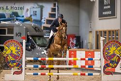 Aegten Wim, BEL, Quintus van het Bokt<br /> Pavo Hengsten competitie - Oudsbergen 2021<br /> © Hippo Foto - Dirk Caremans<br />  22/02/2021