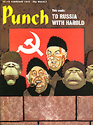 Punch cover 12-18 February 1975 (Harold Wilson and Dennis Healy visit the Soviet Union)