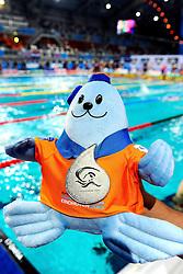 25.11.2010, Pieter van den Hoogenband Zwemstadion, Eindhoven, NED, Kurzbahn Schwimm EM, im Bild Silver Medal. . // Eindhoven 25/11/2010 .European Short Course Swimming Championships, EXPA/ InsideFoto/ Staccioli+++++ ATTENTION - FOR USE IN AUSTRIA/AUT AND SLOVENIA/SLO ONLY +++++ / SPORTIDA PHOTO AGENCY