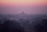 A morning scene  President Carter visits India on January 1, 1978<br /> Photo by Dennis Brack